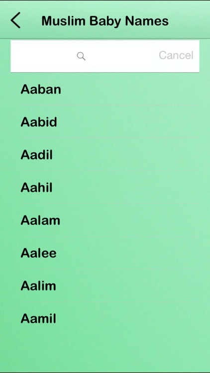 Muslim Baby Names! screenshot-1