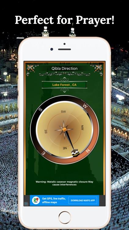 Qibla Compass-Perfect Maccah Find screenshot-3