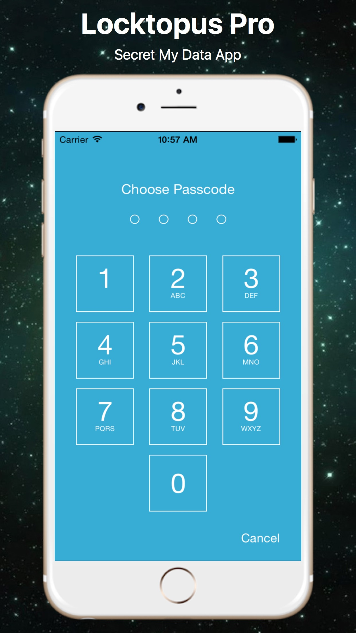 LocktoPus Plus - Secret Data App Screenshot
