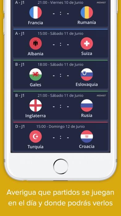 点击获取Euro 2016 - Resultados en Directo, Eurocopa Fútbol