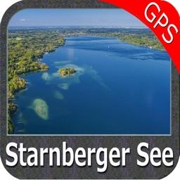 Lake : Starnberg GPS Map Navigator