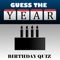 Test your celebrity birthday knowledge with this fun quiz game