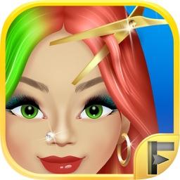 Celebrity Girls Princess Hair Salon & Spa - Free Dressup Games For Kids