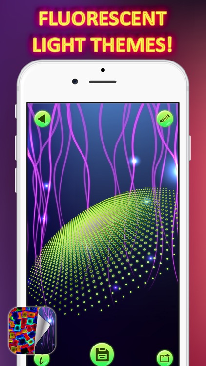 Neon Wallpapers Free – Glowing HD Backgrounds with Fluorescent Light Themes