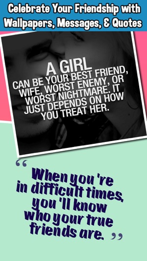 BFF Friends Quotes Wallpapers