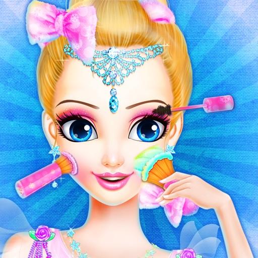 Принцесса макияж салон - Ледяная королева Стиль