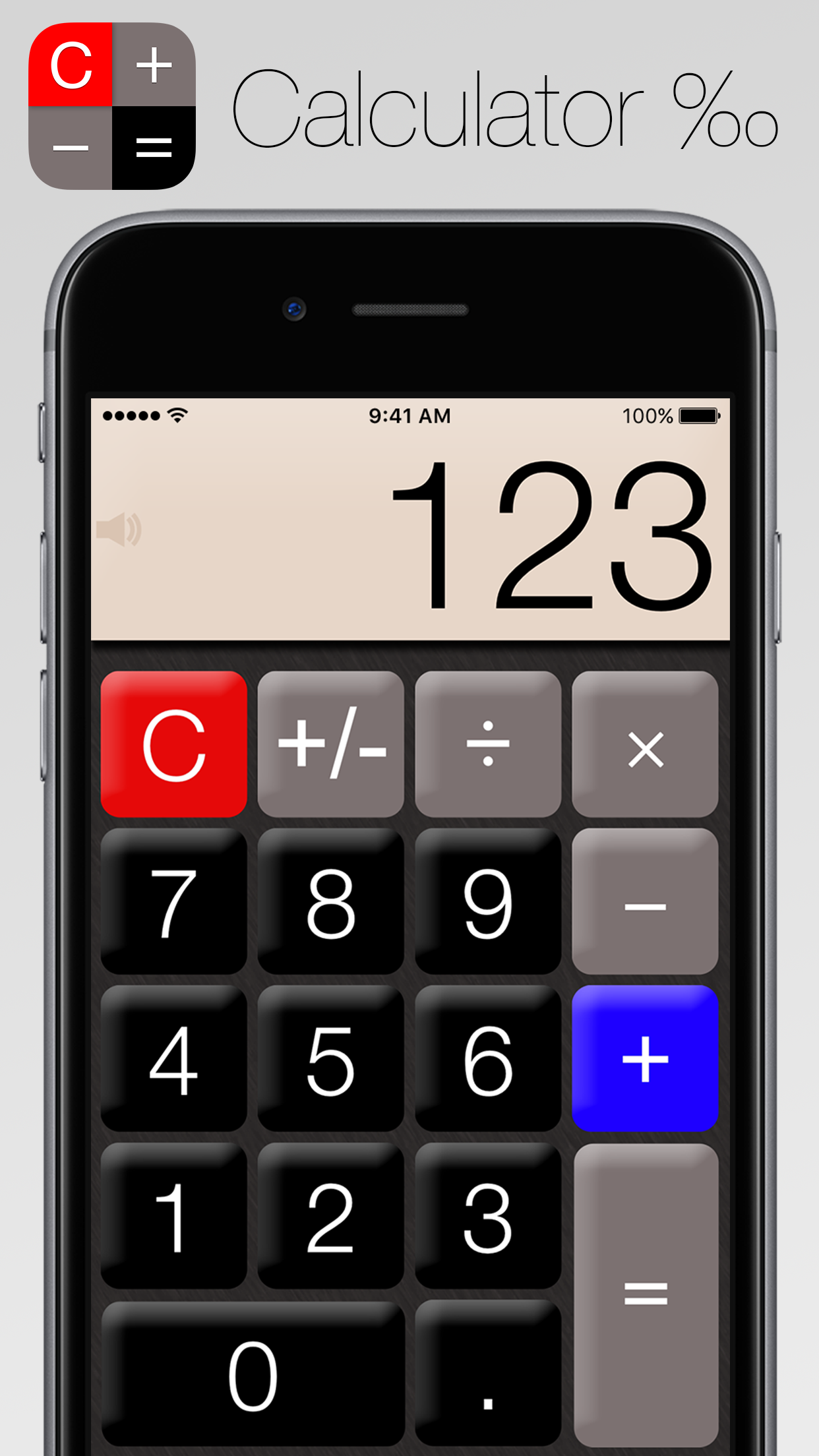 Calculator‰ Screenshot