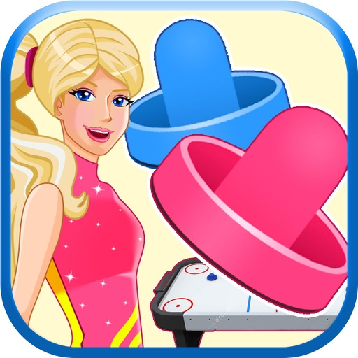 Amazing Princess Air Hockey