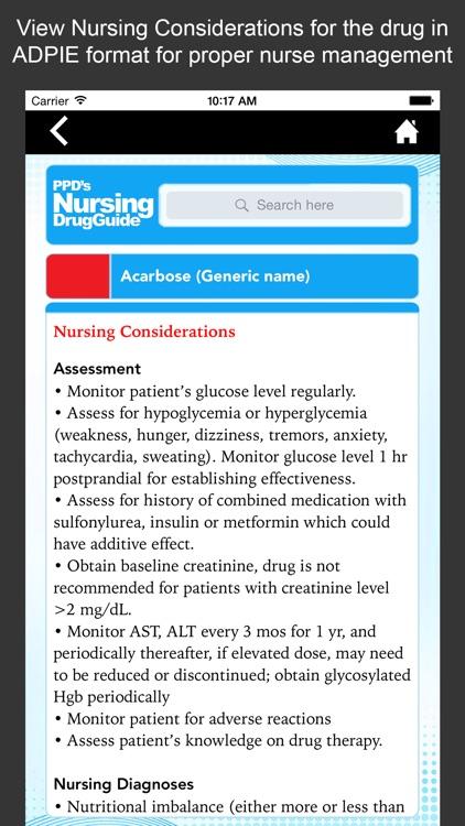 Nursing Drug Guide screenshot-4