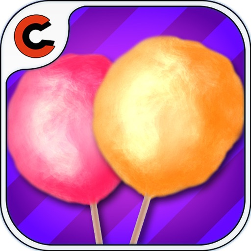 frenzy cotton candy - cooking game for kid and Toddlers app logo