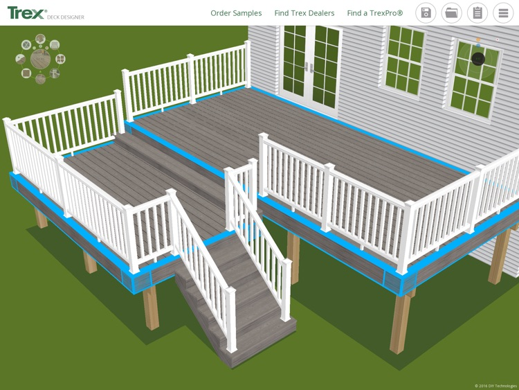 Trex Deck Designer App– Plan and create your Trex dream deck and outdoor living space!