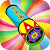 Kaleidoscope Doodle Pad - Funny Paint & Free Drawing Free Games - iPhoneアプリ