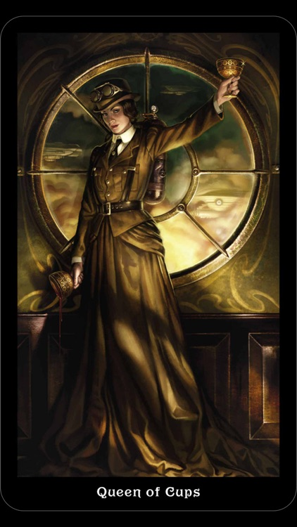 Steampunk Tarot screenshot-1