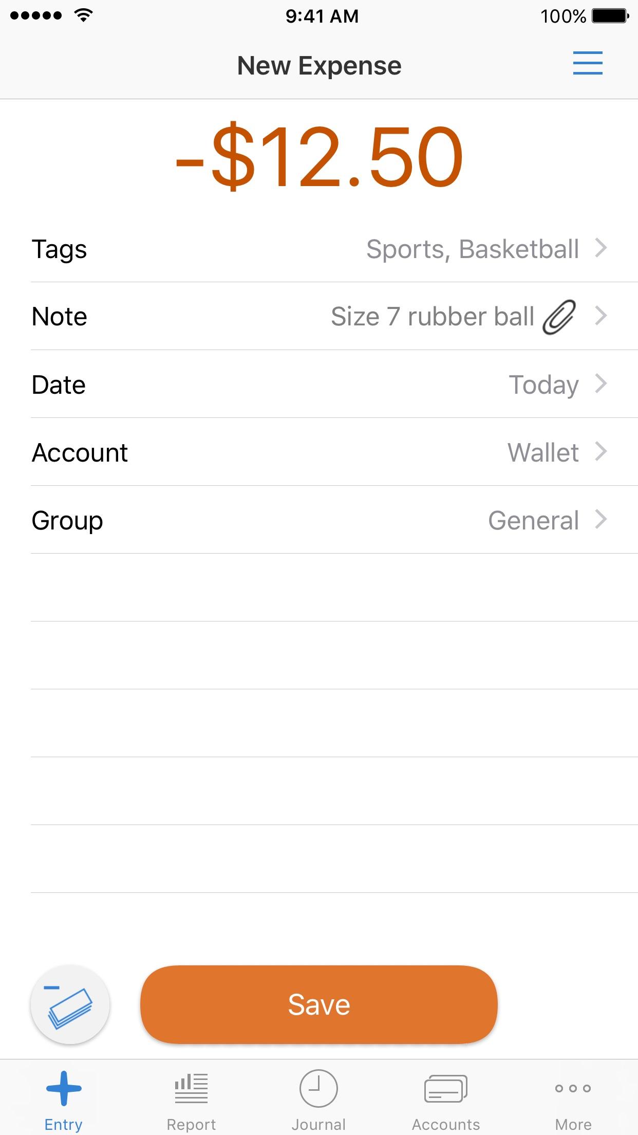 CashTrails+: Personal Finance Screenshot
