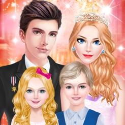 princess fashion royal family salon spa makeup makeover game
