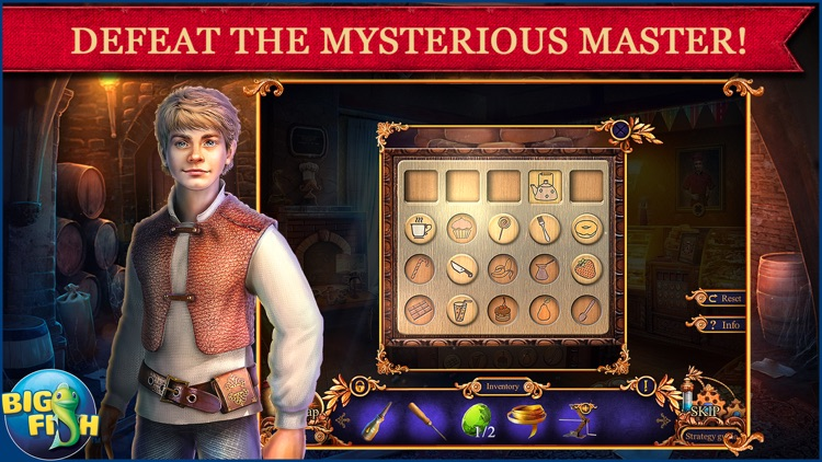 Royal Detective: Legend of The Golem - A Hidden Object Adventure (Full) screenshot-2