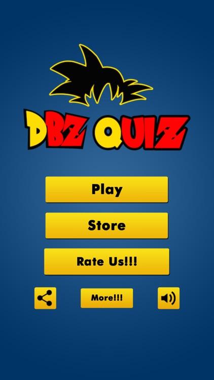 Anime DBZ Games Super Hero Battle Quiz of Sagas ~ Dragon Ball Z Edition