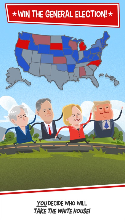 Candidate Crunch: Donald Trump vs Hillary Clinton vs Bernie - Funny Election Game screenshot-3