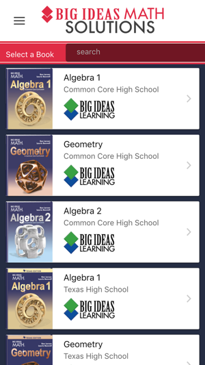 Big Ideas Math Solutions on the App Store
