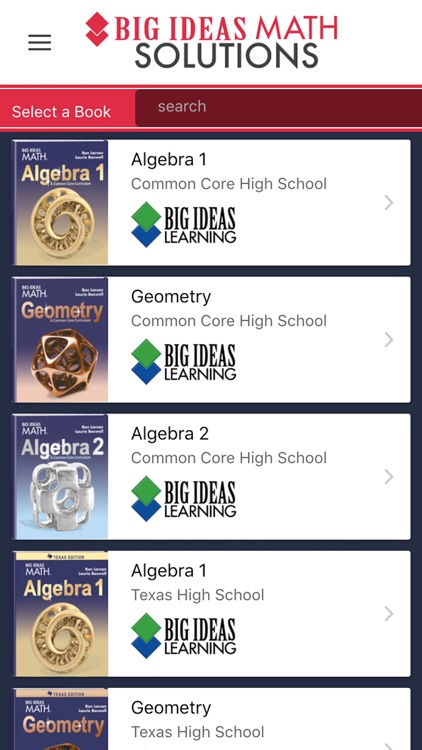Big Ideas Math Solutions