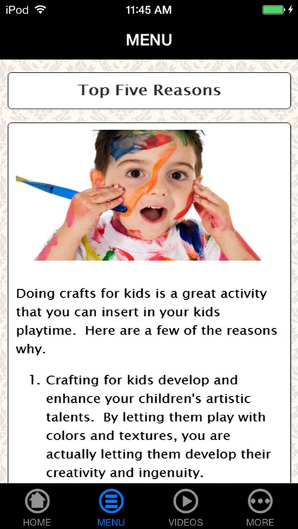 Arts & Crafts Ideas Guide for Kids, Parents & Teachers - Avoid Video Games & Be Creative! screenshot-3