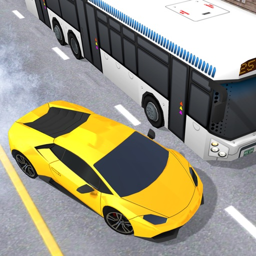 Real Traffic Driving. Panic Crash Rider In Highway Racing Car 3D Free