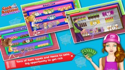 Supermarkt-Kasse & Einkaufen MädchenScreenshot von 3