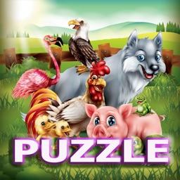 Animals In Farm Jigsaw Puzzle