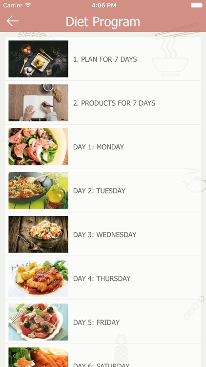 Diet Program App screenshot-3