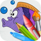 Coloring World 4 Kids - first educational colouring book for preschool children hd icon
