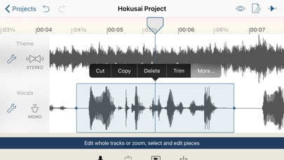 Hokusai Audio Editor for Windows