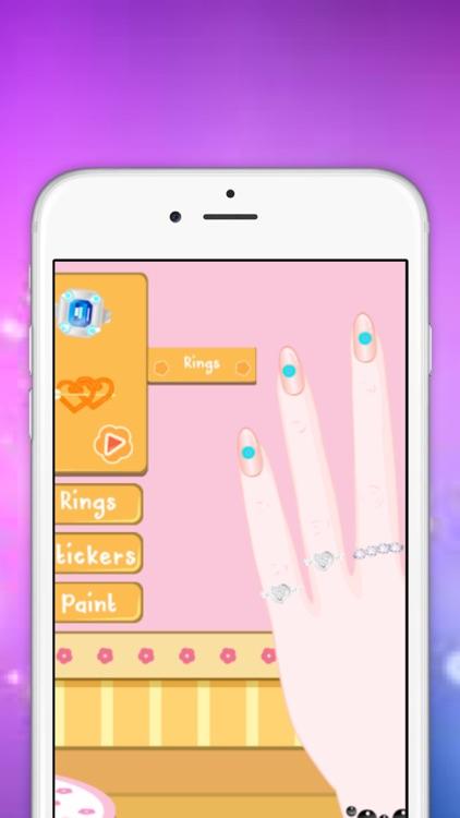 Girls Games : Nail Art Salon Full Game