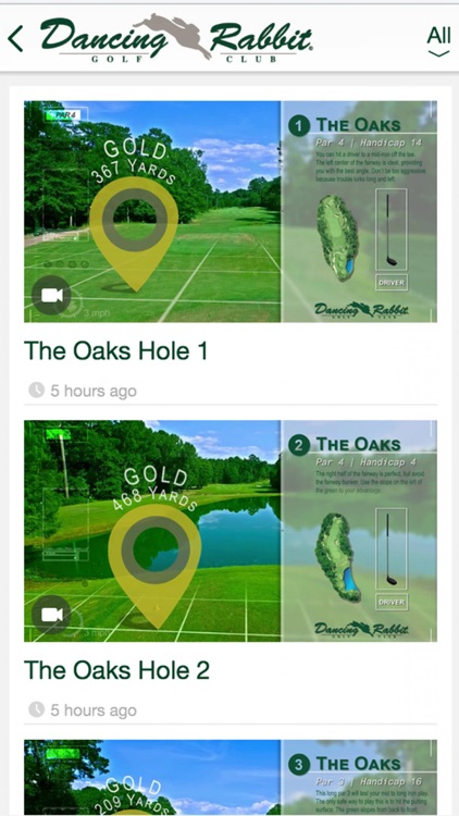 Dancing Rabbit Golf Course