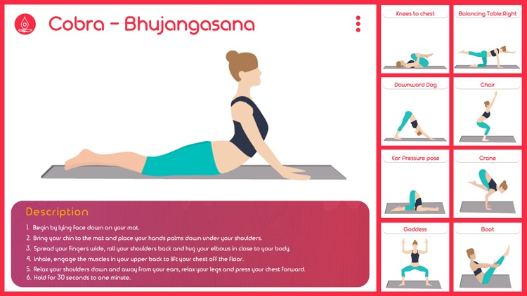 Instant Yoga Home Studio - Yoga Poses Breathing, Stretches and Exercises Training