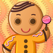 Design Your Own Gingerbread Man - Dressup Game
