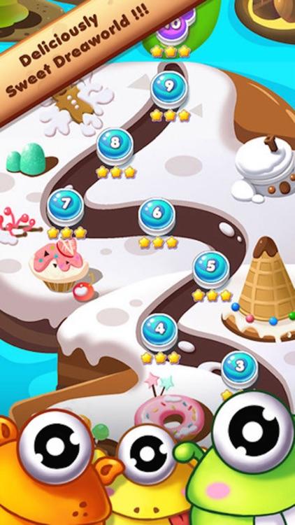 Cookie Crush Mania - 3 match puzzle splash game screenshot-4