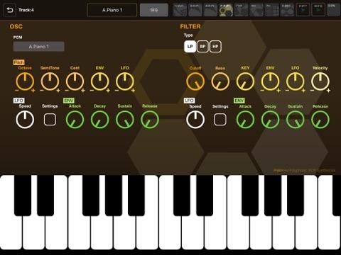 Screenshot #5 pour XENON Synthesizer
