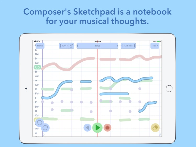 Composer's Sketchpad screenshot-0