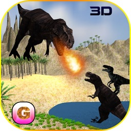 Flying Dinosaur Simulator - Velociraptor & spinosaurus Simulation FREE game
