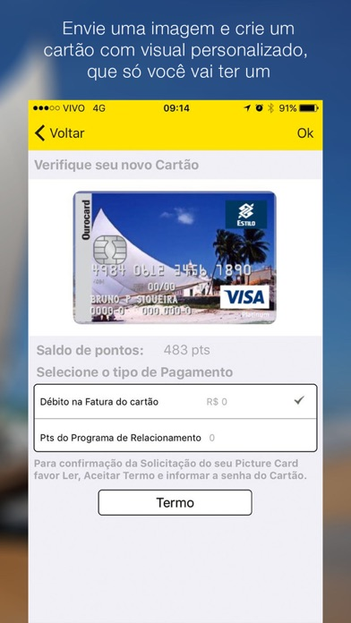 Ourocard - Cartão de crédito. screenshot