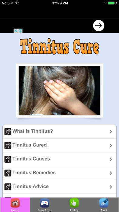 Tinnitus Treatment #1 Tinnitus Cure For Ringing In Ears screenshot two