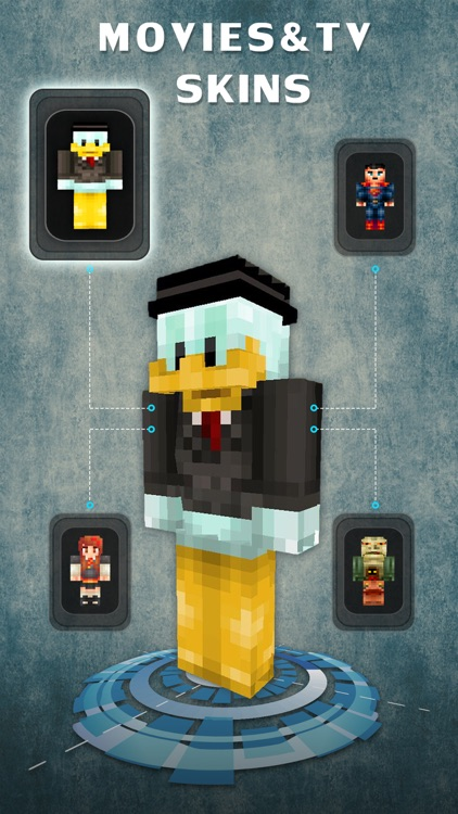 Movie Pixel Skins Collection - Minecraft Pocket Edition Lite