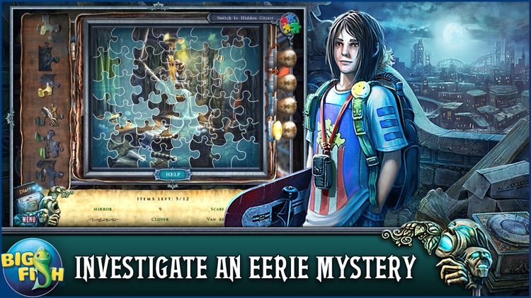 Fear For Sale: Nightmare Cinema - A Mystery Hidden Object Game screenshot-1