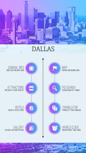Dallas City Guide en App Store