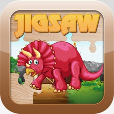 Activities of Dinosaur Jigsaw Puzzles - Cute Dino Learning Games Free for Kids Toddler and Preschool