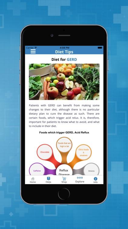 GERD, Heartburn and Acid Reflux Symptoms & Remedies screenshot-4