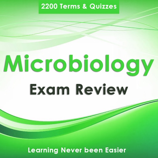 Microbiology Exam Review : 2200 Study Notes, Quiz & Concepts explained
