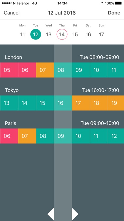 Meeting Planner by timeanddate.com