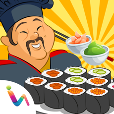 Activities of Japanese Cooking Mania - Sushi Maker Kids Food Games