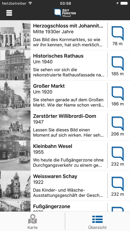Zeitfenster Wesel screenshot-2